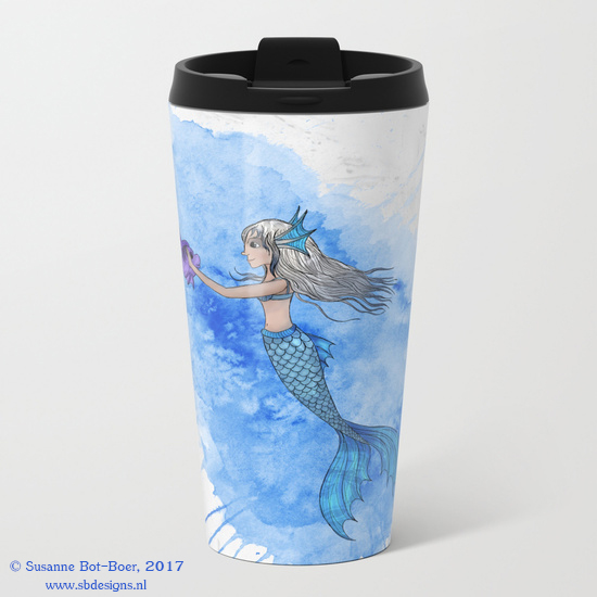 a-mermaid-and-her-friend-metal-travel-mugs