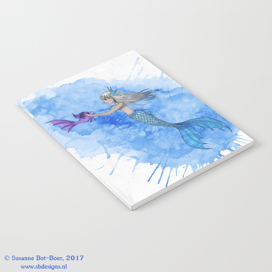 a-mermaid-and-her-friend-notebooks
